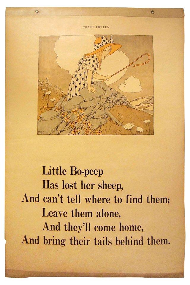 Little Bo Peep Classroom Chart