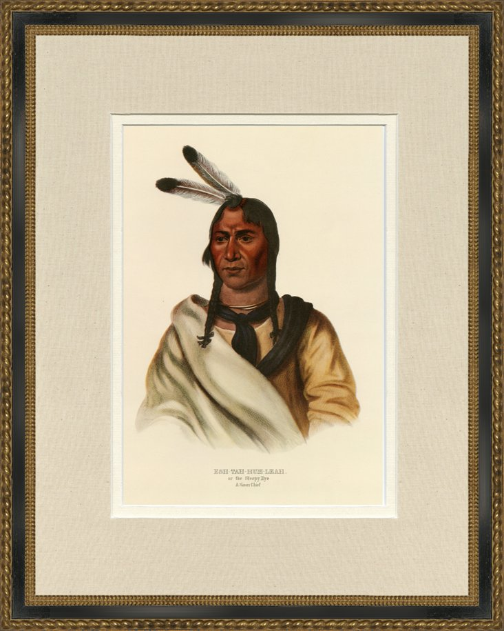 Indian Chiefs Print VI, 1965