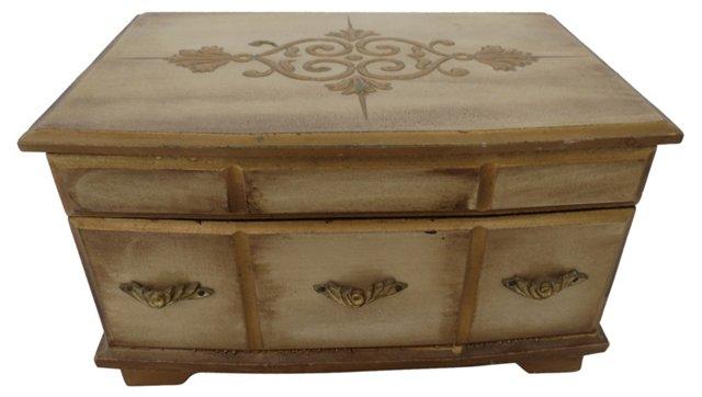 Florentine-Style Jewelry Box