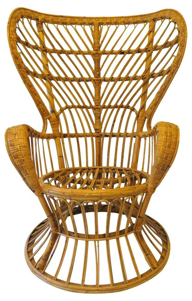 Gio Ponti Highback Lounge Chair