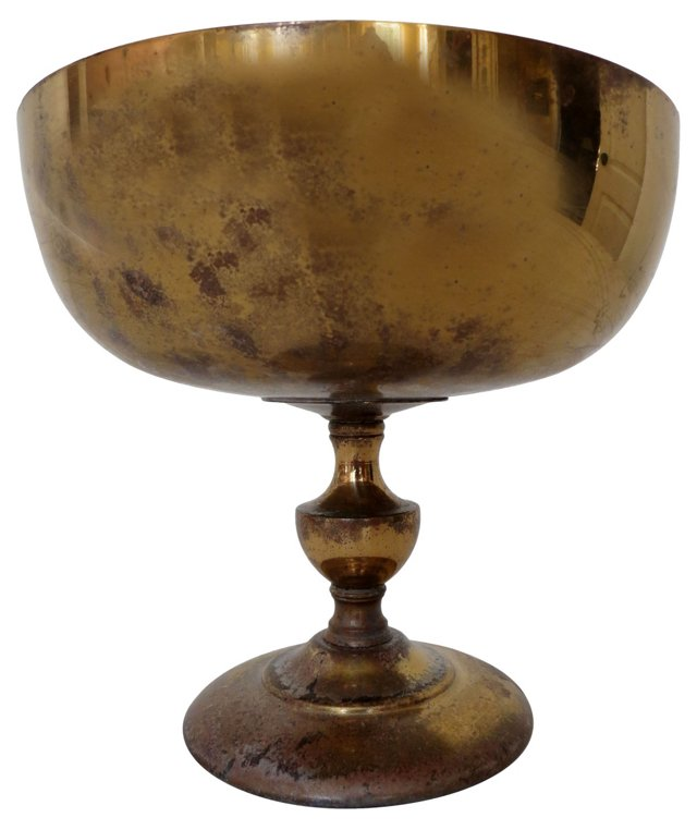 Brass Compote