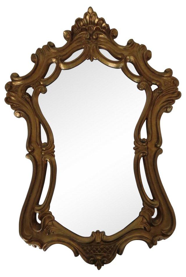 Baroque-Style Italian Mirror