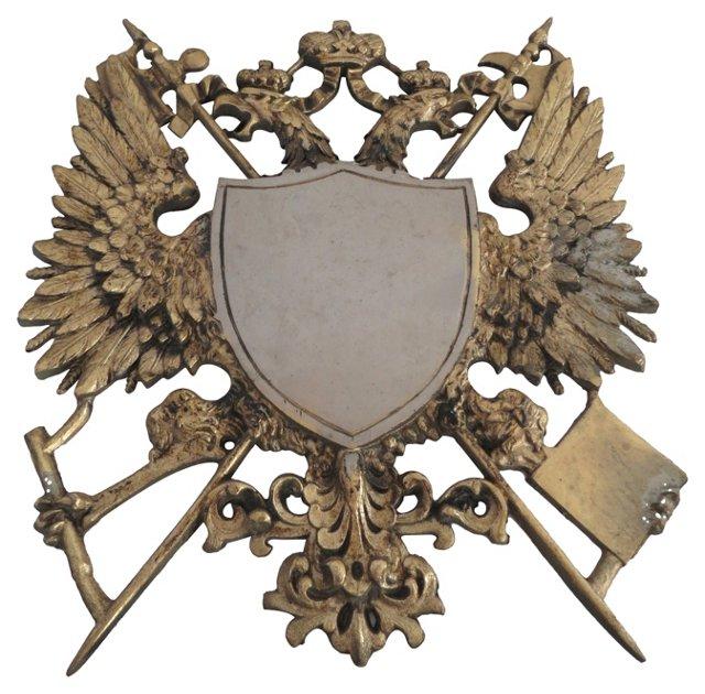 Royal Coat of Arms Wall Hanging