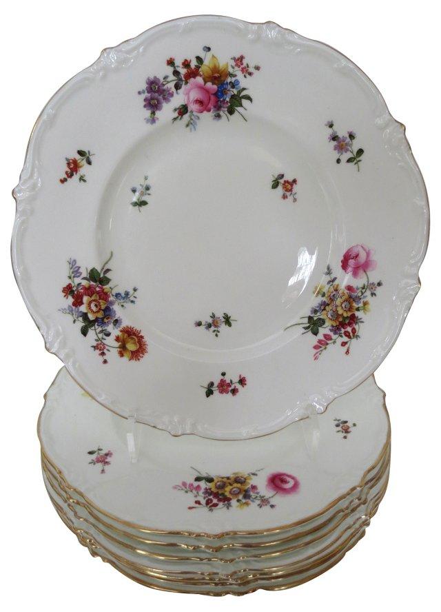Royal Cauldon Service Plates, S/8