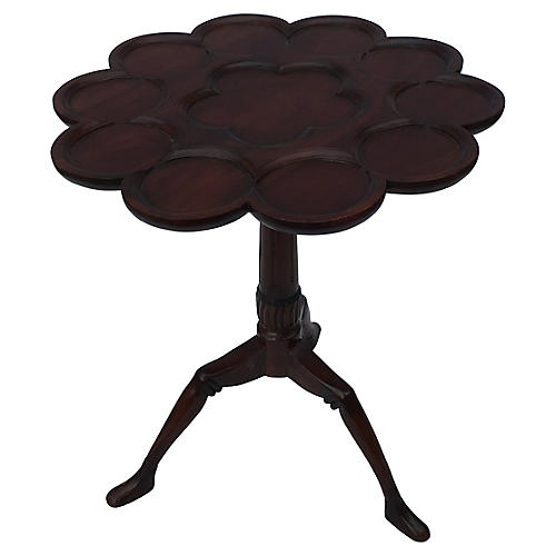 English Tilt-Top Serving Table