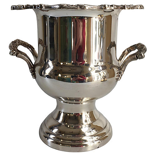 Silver-Plate Champagne Bucket
