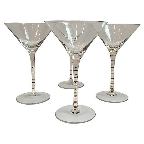 1970s Martini Stems, S/4