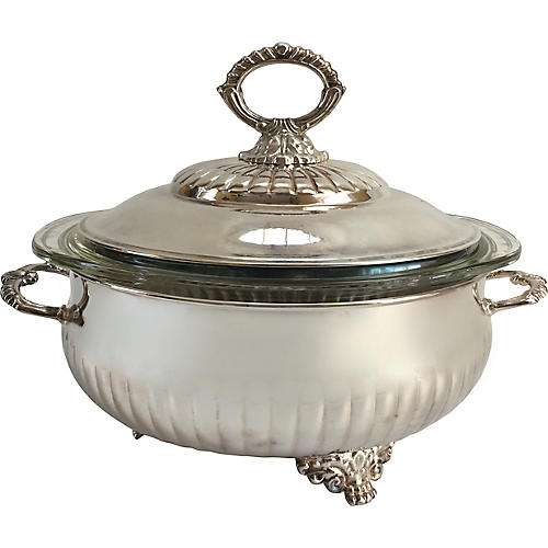 Silver-Plate Tureen