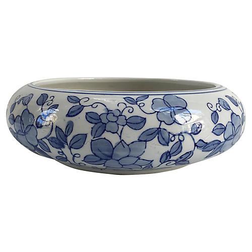 Chinese Porcelain Lotus Flowering Bowl
