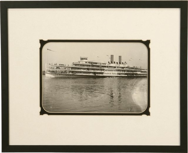 H. Hudson Steamboat Photograph