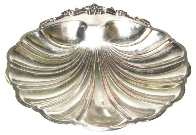 Silverplate Shell Dish