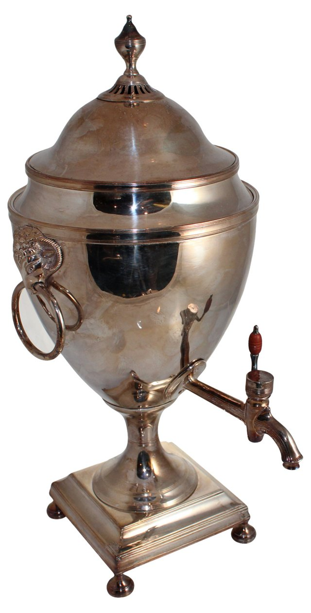 Old Sheffield Tea Urn