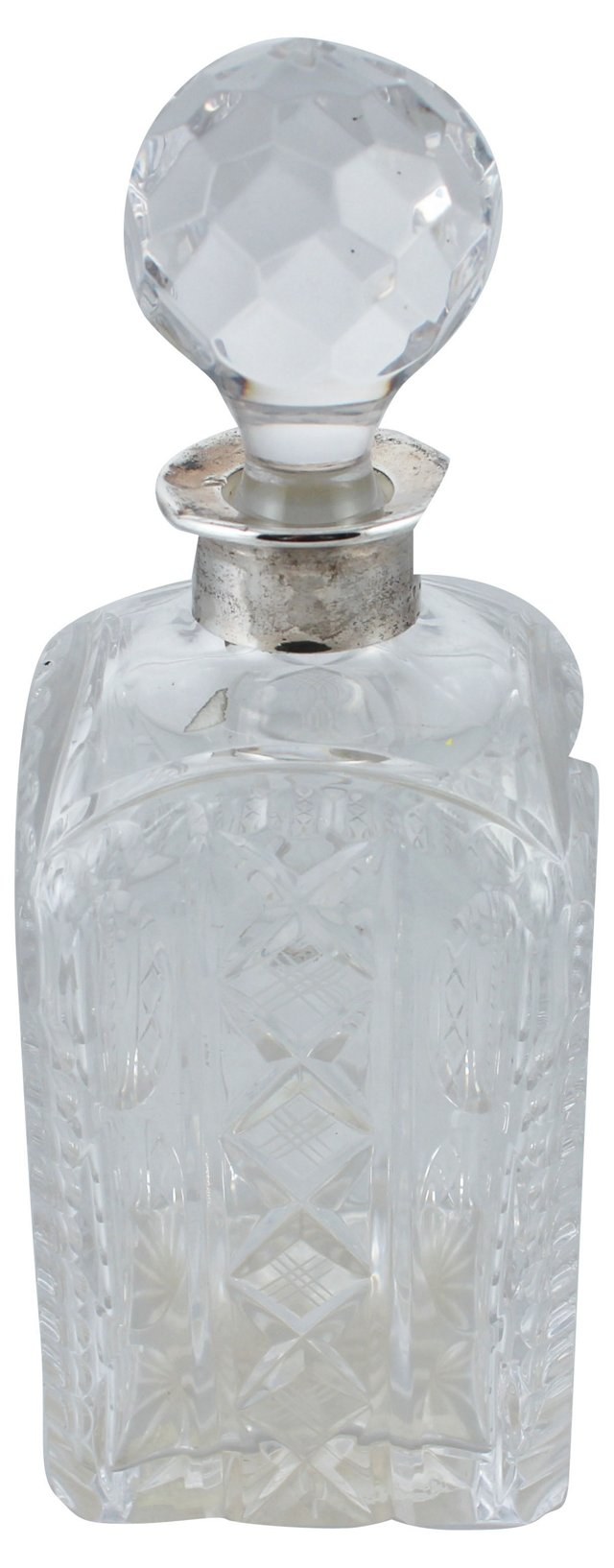 Sterling & Crystal Carr's Decanter