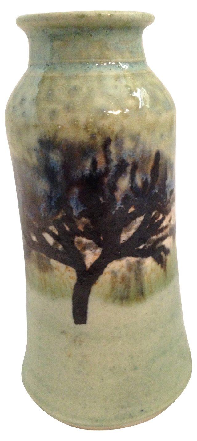 Hand-Thrown Tree Vase