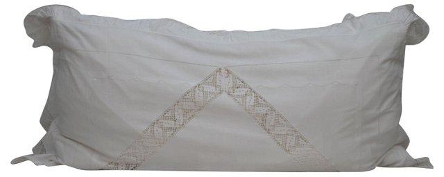 Italian Lace Body   Pillow
