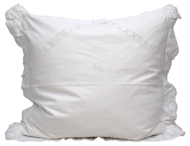 Pillow w/   Euro Sham