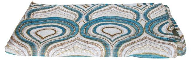 Blue & White Scandinavian Fabric