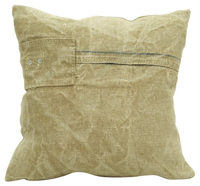 French  Mill  Sack  Pillow