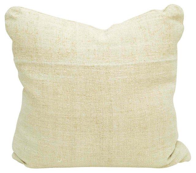 Linen  Grain Sack Pillow