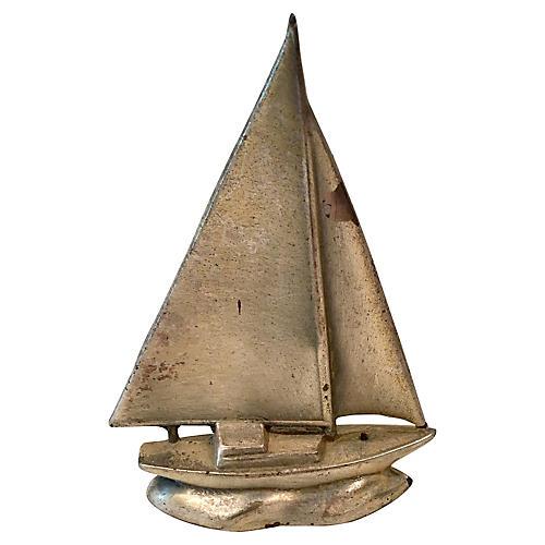 Art Deco Sailboat