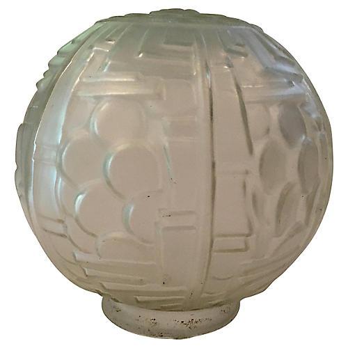 French Art Deco Globe Shade