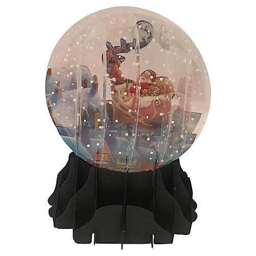 Die Cute Paper Snow Globe