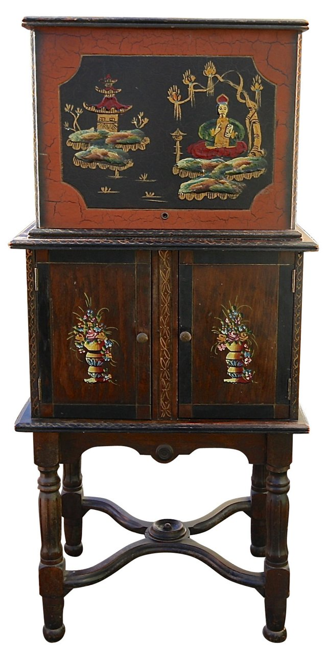 Chinese Smoking Cabinet