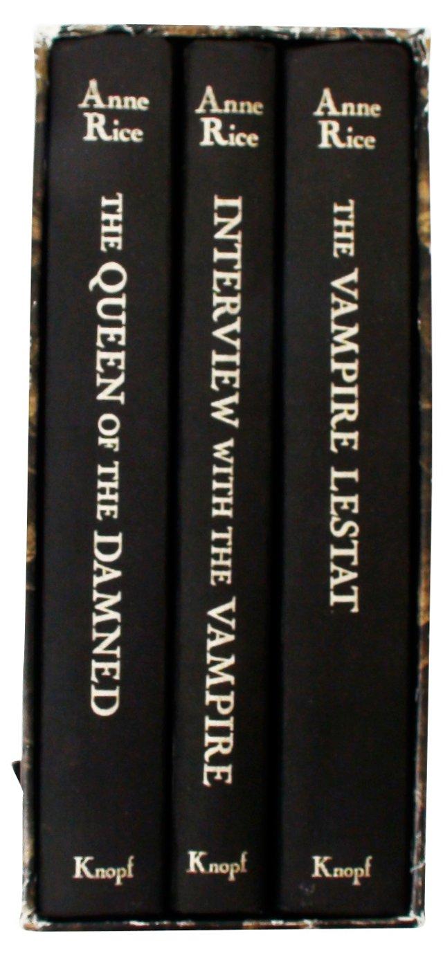 Anne Rice's Vampires, 3 Vols, Signed