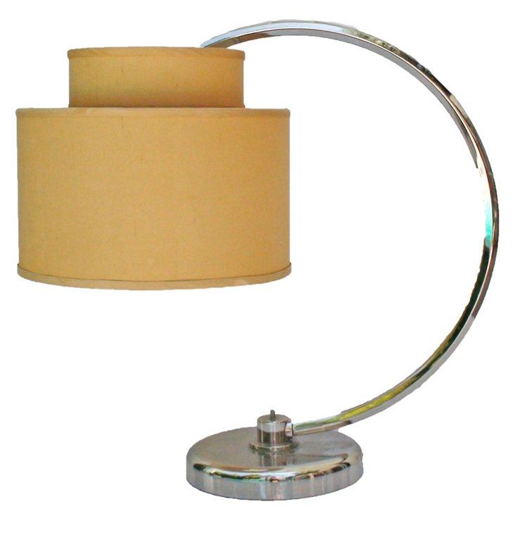 Chrome Arc Desk Lamp