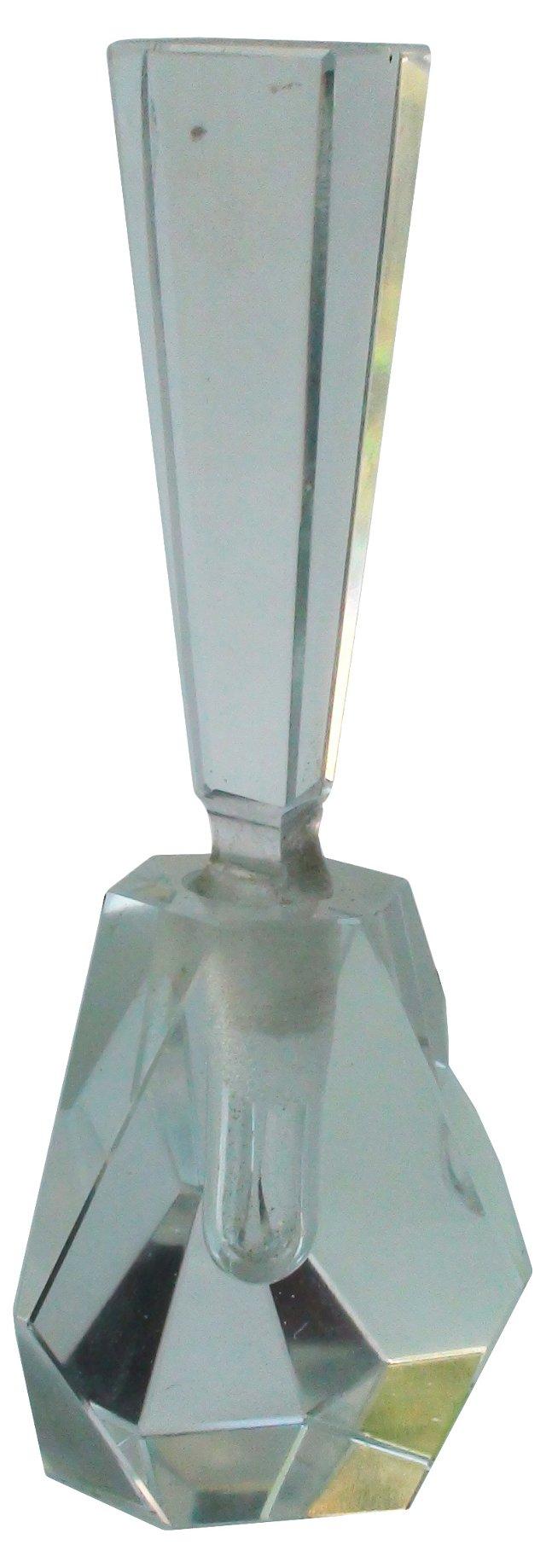 Cut-Crystal Perfume  Bottle