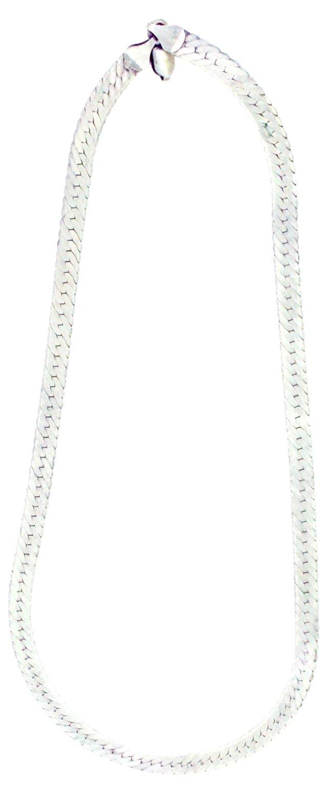 Italian Sterling Snake Necklace