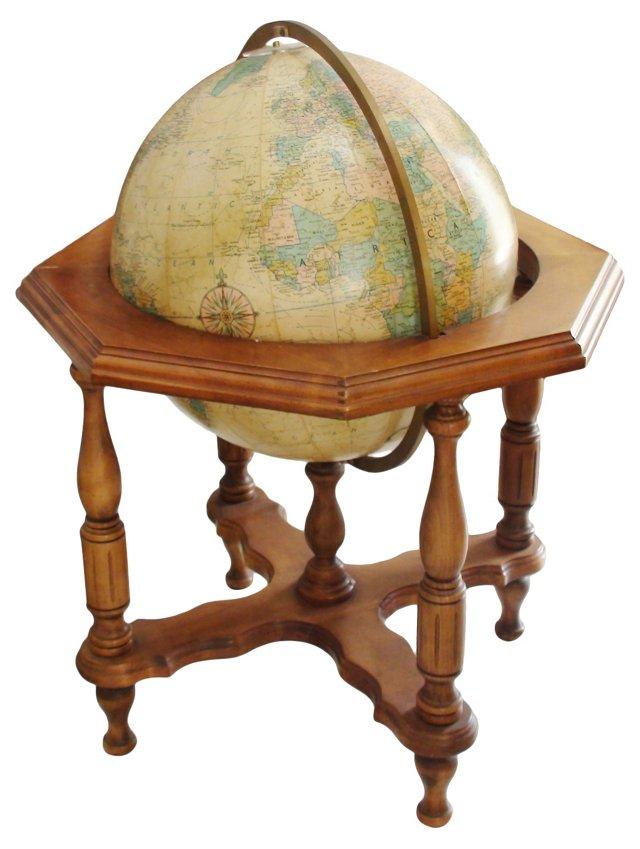 Illuminated Floor Globe
