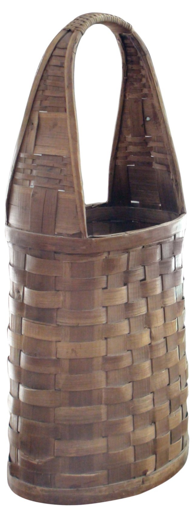 Tall Antique Spanish Basket