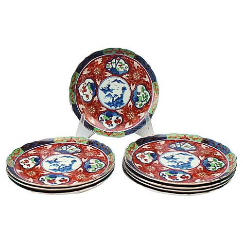 Fine Imari Charger Platters S/12