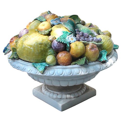 Majolica Fruit Topiary