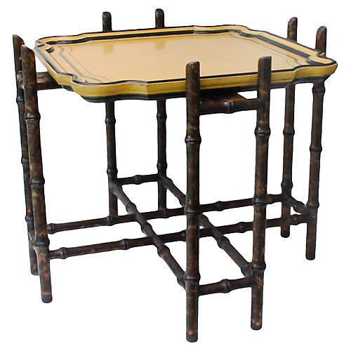 Baker Chinoiserie Tray Table