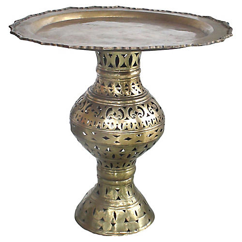 Pierced Moroccan Table