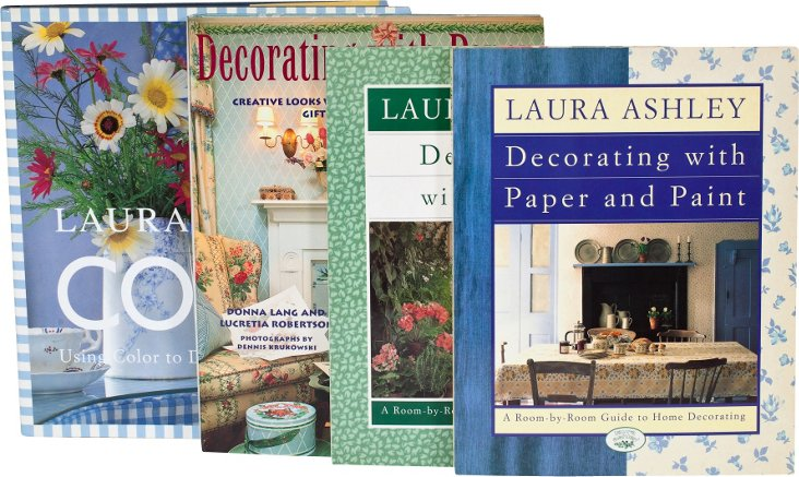Laura Ashley Books, Set of 4