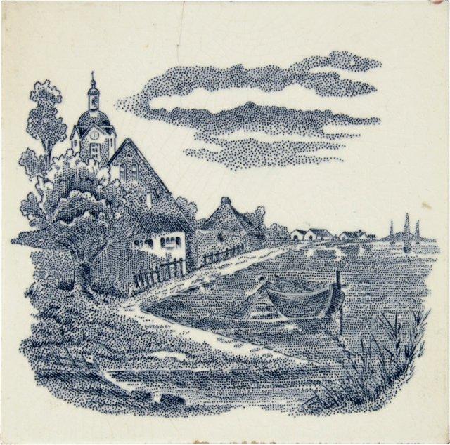 Antique Landscape Tile