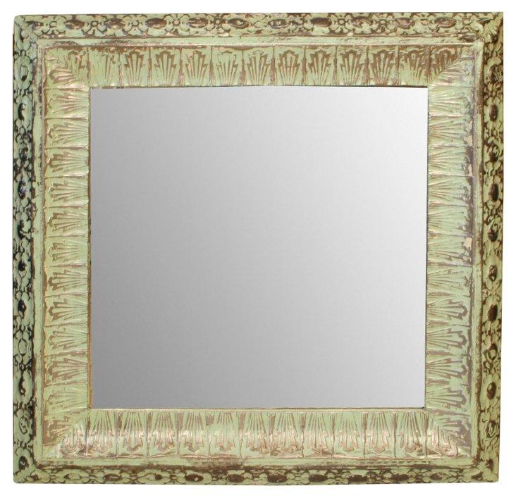 Mint Green Mirror