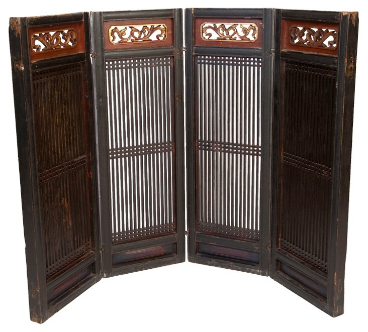 Antique Zhejiang Screen