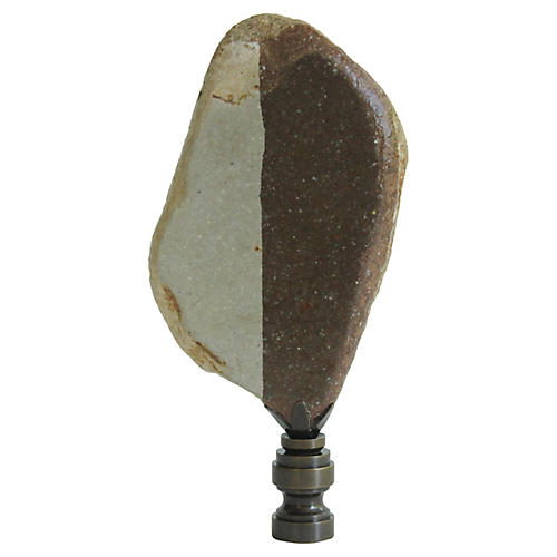 Surf Tumbled Tile Lamp Finial