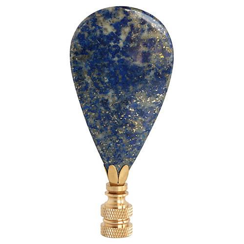 Lapis Lazuli Lamp Finial