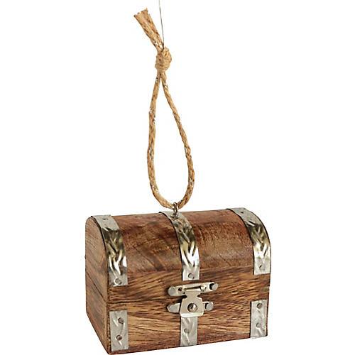 Treasure Chest Christmas Ornament