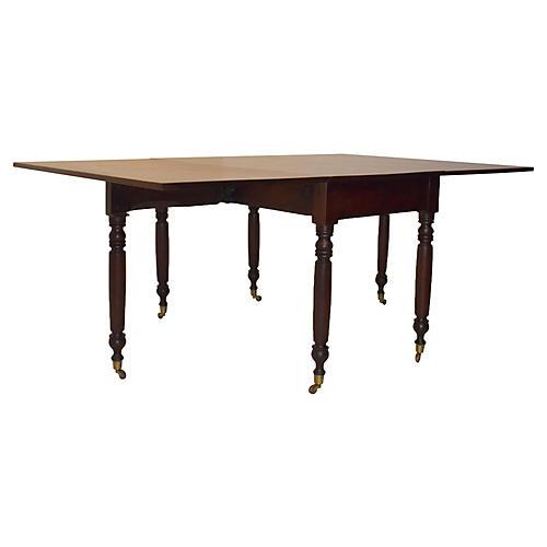 19th-C. American Sheraton Table
