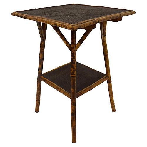 19th-C. English Bamboo Table