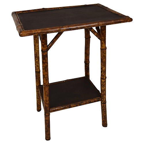 19th-Century Rectangular Bamboo Table