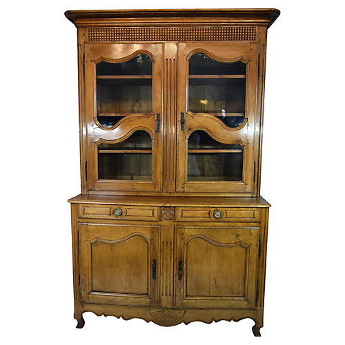 19th-C. French Buffet a Deux Corps