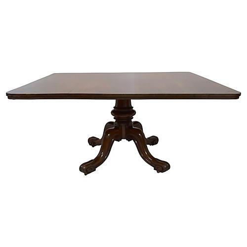 19th-C. William IV Mahogany Dining Table