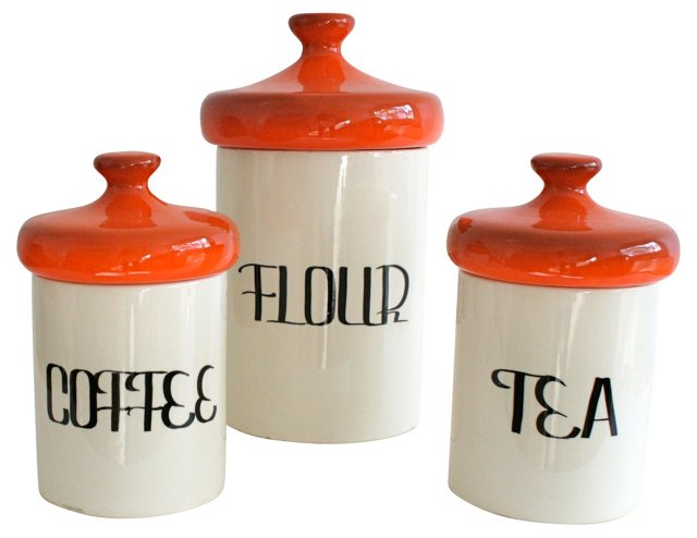 Canisters, Set of 3